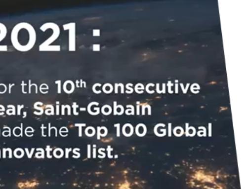 Saint-Gobain se posiciona por 10º año consecutivo en el TOP 100 de empresas más innovadoras del mundo en el ranking Clarivate