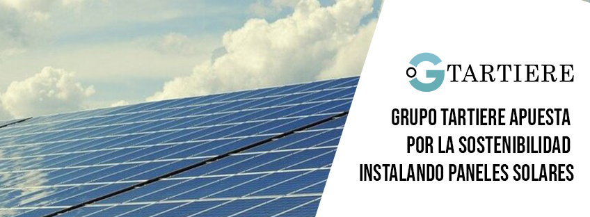 Grupo Tartiere apuesta por la sostenibilidad instalando paneles solares