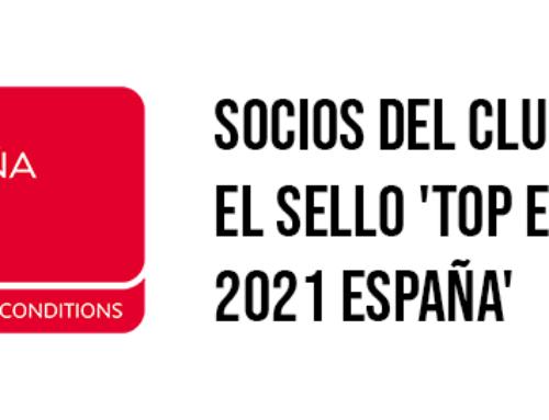 Socios del Club obtienen el sello 'TOP Employer 2021 España'